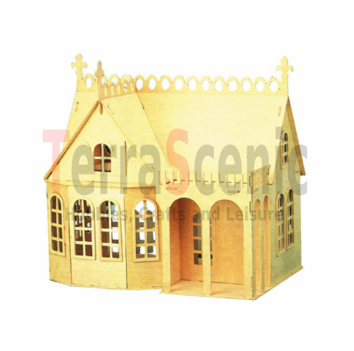 Wooden Dolls House: The Lodge TL2006/2